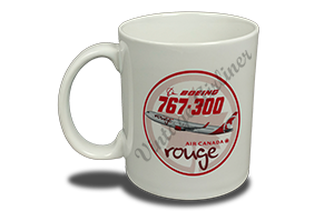 Air Canada 767 Rouge 11 oz. Coffee Mug