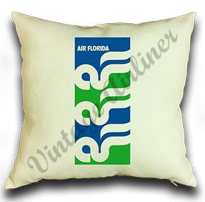 Air Florida Logo Linen Pillow Case Cover