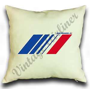 Air France Current Logo Linen Pillow Case Cover