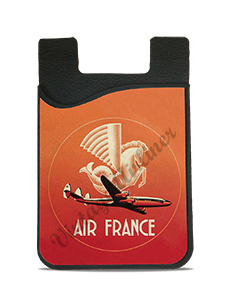 Air France 1950's Bag Sticker Card Caddy
