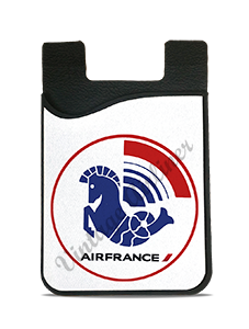 Air France 1976 Logo Card Caddy