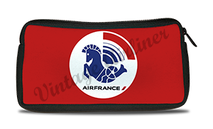 Air France 1976 Logo Travel Pouch