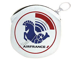 Air France 1976 Logo Round Coin Purse