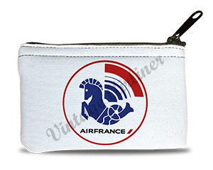 Air France 1976 Logo Rectangular Coin Purse