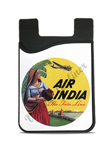 Air India Vintage Bag Sticker Card Caddy