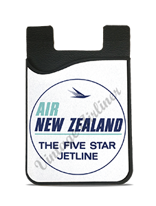 Air New Zealand Vintage Bag Sticker Card Caddy