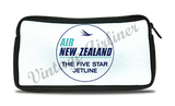 Air New Zealand Bag Sticker Travel Pouch