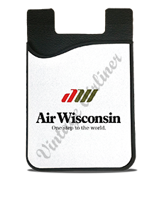 Air Wisconsin Logo Card Caddy