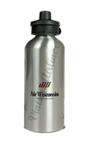 Air Wisconsin Logo Aluminum Water Bottle