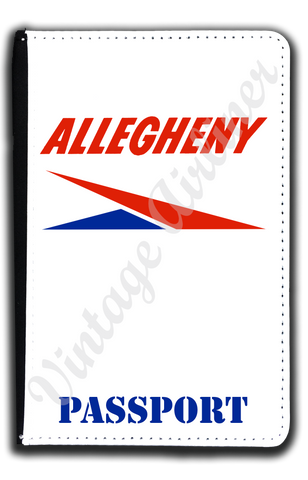Allegheny Airlines Logo Passport Case