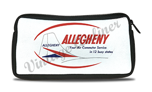 Allegheny Airlines Vintage Bag Sticker Travel Pouch