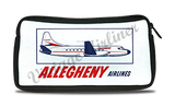 Allegheny Airlines 1960's Bag Sticker Travel Pouch