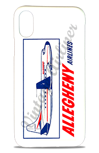 Allegheny Airlines 1960's Vintage Bag Sticker Phone Case