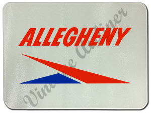 Allegheny Airlines Logo Glass Cutting Board