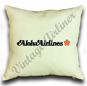 Aloha Airlines Logo Linen Pillow Case Cover