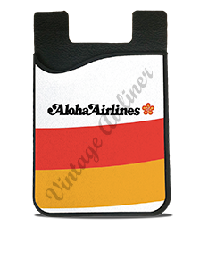 Aloha Airlines Logo Card Caddy
