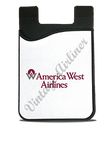 America West Airlines Original Logo Timetable Card Caddy