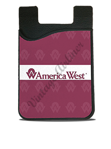 America West Logo Card Caddy