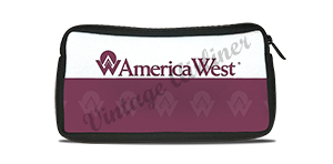 America West Logo Travel Pouch