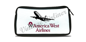 America West 737 Logo Travel Pouch