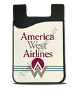 America West First Logo Card Caddy