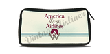 America West First Logo Travel Pouch