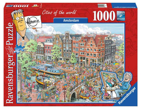 Amsterdam Cities of the World Puzzle (1,000 pieces) by Ravensburger