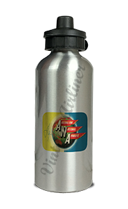 Australian National Airways Vintage Bag Sticker Aluminum Water Bottle