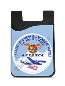 Avianca 1950's Vintage Bag Sticker Card Caddy