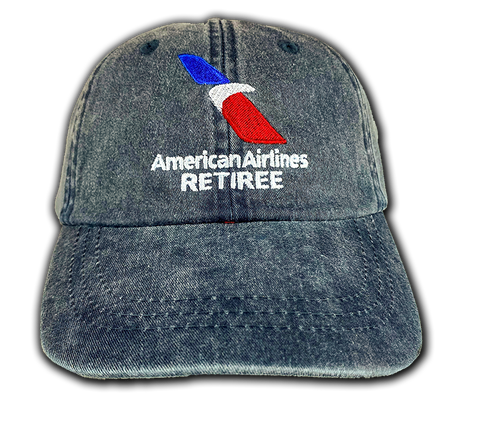 American Airlines 2013 Logo Retiree Blue Cap