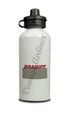 Braniff International 1980's Ticket Jacket Cover Aluminum Water Bottle