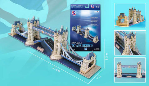 London Tower Bridge 120 Pcs