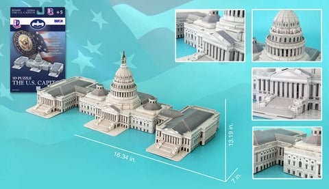 US Capitol Building 132 Pieces
