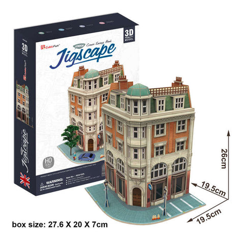 Corner Savings Bank 94 Piece 3D Puzzle
