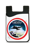 Cubana Airlines 1930's Vintage Bag Sticker Card Caddy