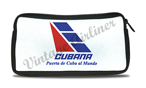Cubana Airlines Logo Travel Pouch