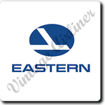 Eastern Airlines Logo Square Coaster