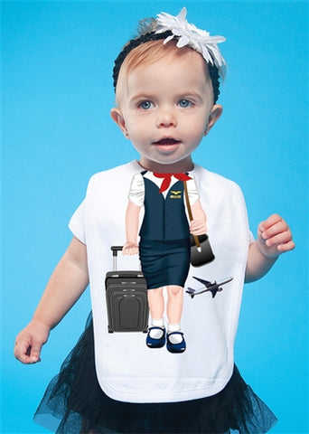 Add A Kid Flight Attendant Bib