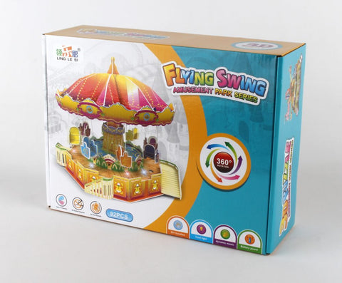 Flying Swing 3D Puzzle 92 Pieces (**)