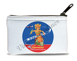 Garuda Indonesian Airlines Bali Vintage Bag Sticker Rectangular Coin Purse
