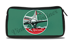 Garuda Indonesia Airlines 1950's Vintage Bag Sticker Travel Pouch
