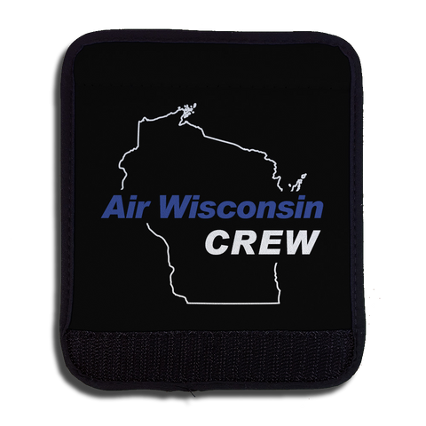 Air Wisconsin Blue/White Crew Handle Wrap