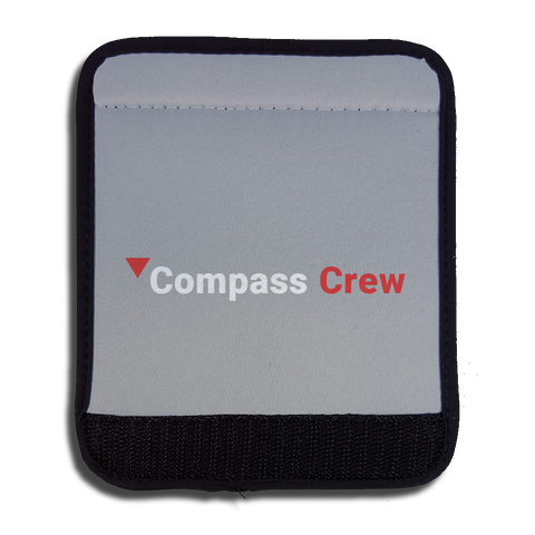 Compass White & Red Crew Handle Wrap