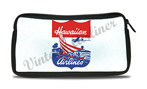 Hawaiian Airlines 1940's Logo Travel Pouch