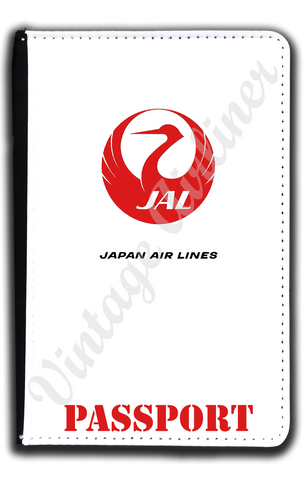 Japan Airlines Logo Passport Case