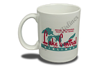 Lake Central Airlines 1950's Vintage Bag Sticker 11 oz. Coffee Mug