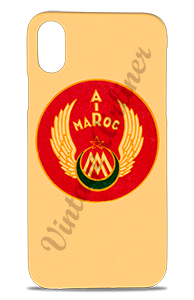 Air Maroc 1940's Bag Sticker Phone Case