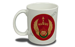 Air Maroc 1940's Bag Sticker 11 oz. Coffee Mug