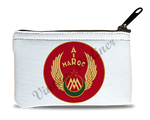 Air Maroc 1940's Vintage Bag Sticker Rectangular Coin Purse