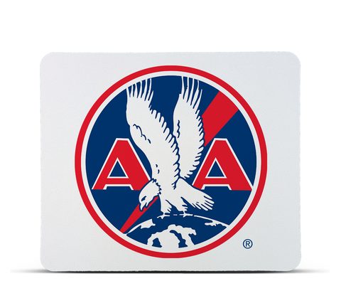 AA 1930's Logo Red MousePad
